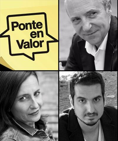 equipo Ponte en Valor, con Guillem Recolons, Eva Collado y Fran Segarra