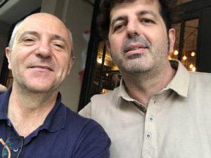 Guillem Recolons y Enrique Rueda