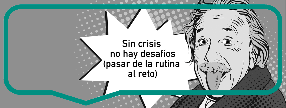 There is no crisis challenges