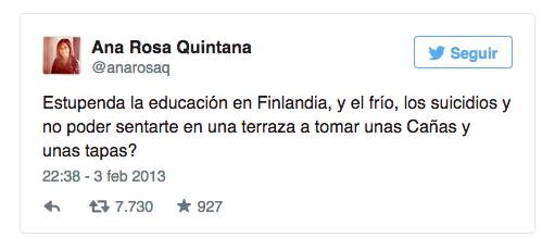 fail Ana Rosa Quintana Finlandia