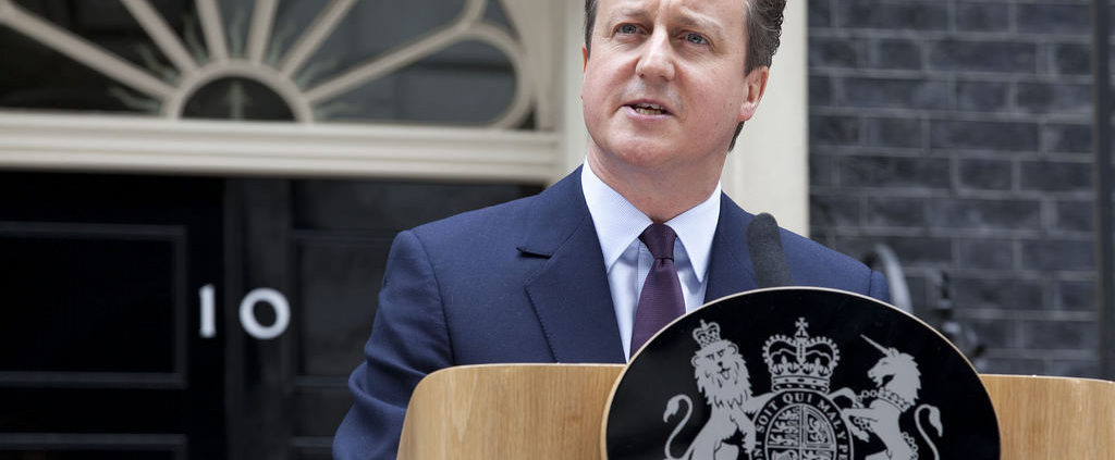 The brave president David Cameron