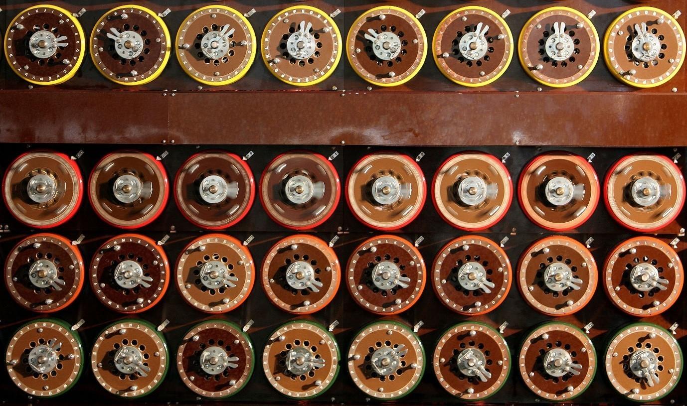 Turing Bombe machine