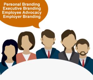 Personal branding applications in the enterprise