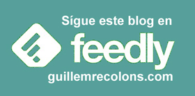 Suscripción Feedly GuillemRecolons.com