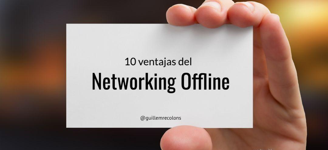 10 advantages of offline networking