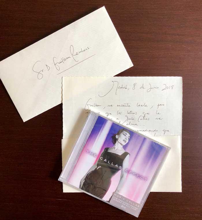 Julia's letter Arrellano, mezzo soprano