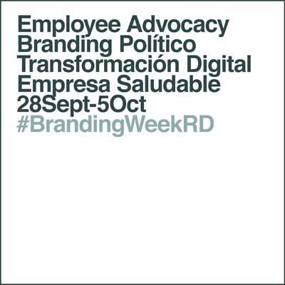 #BrandingWeekRD contenidos