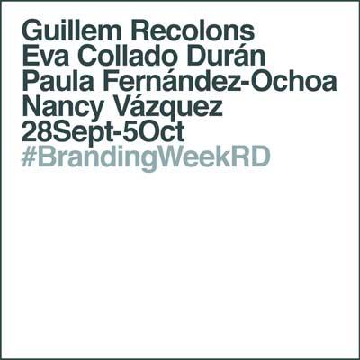 #BrandingWeekRD ponentes