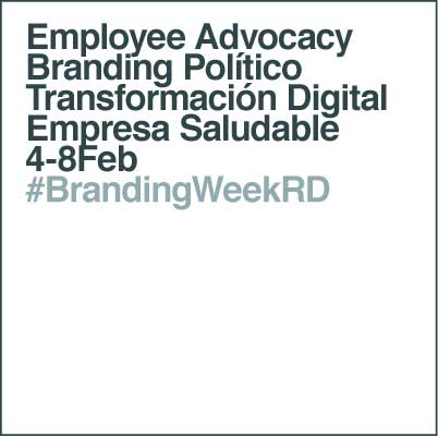 #BrandingWeekRD Temas 2019