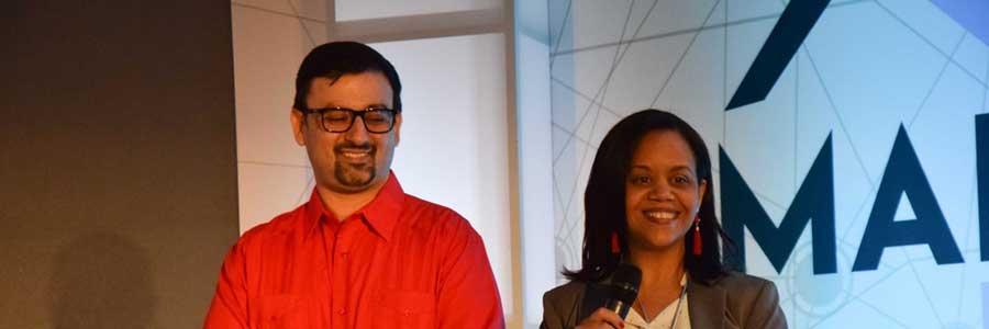 Isaac G. Merino y Anabel Ferreiras, almas del Congreso Madi y socios de Quifer Consultores