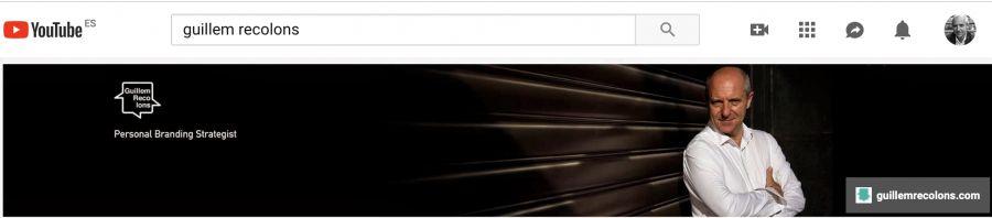 Aplicació perfil a YouTube