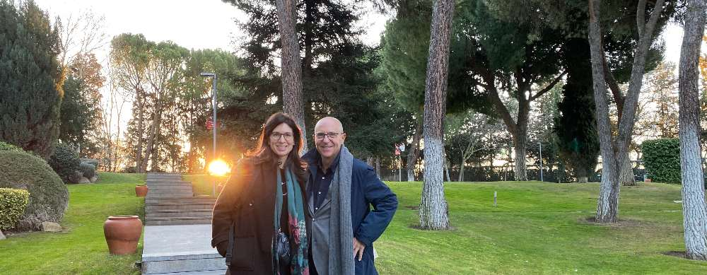 Vicky Lambiri & Guillem Recolons, IESE campus Madrid