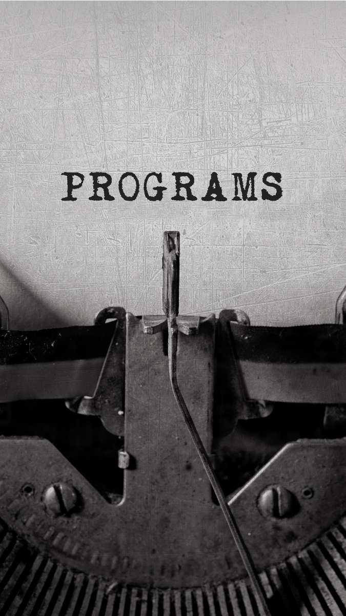 Programes de Guillem Recolons