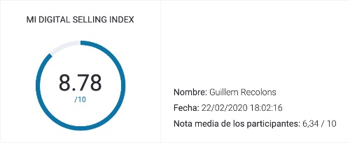 Digital Selling Index by Guillem Recolons 02_20