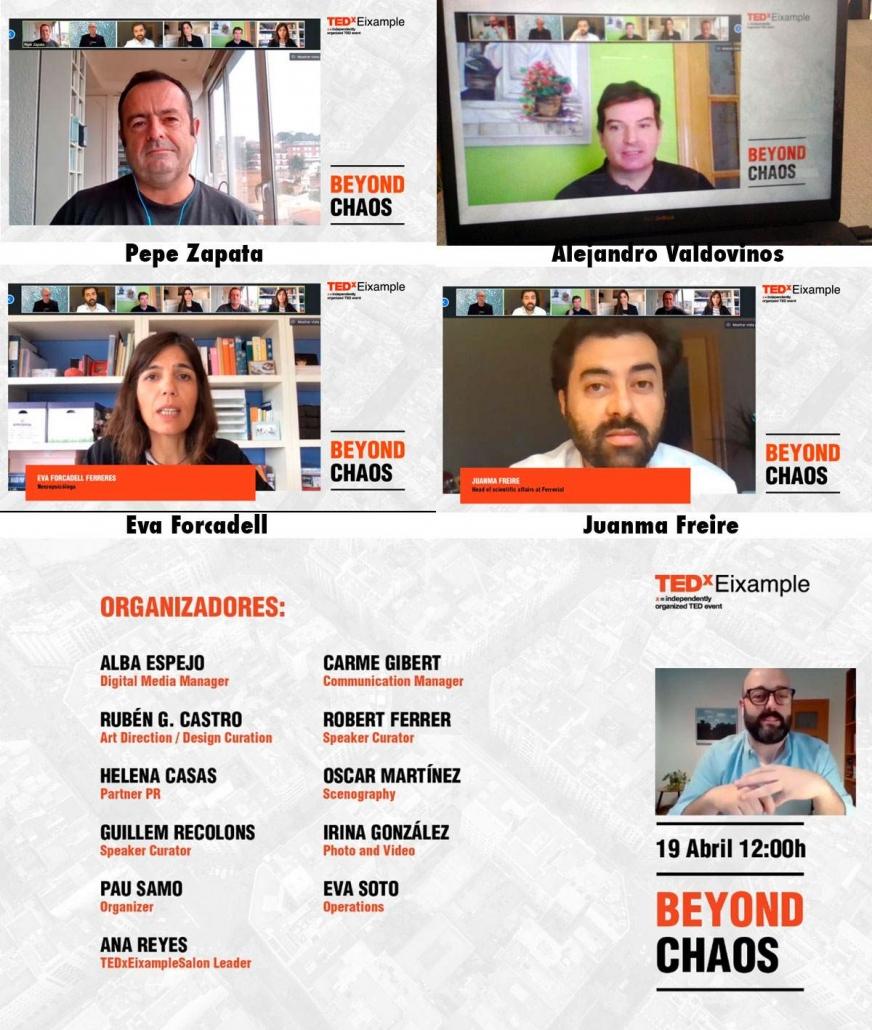 TEDx Eixample més enllà del caos
