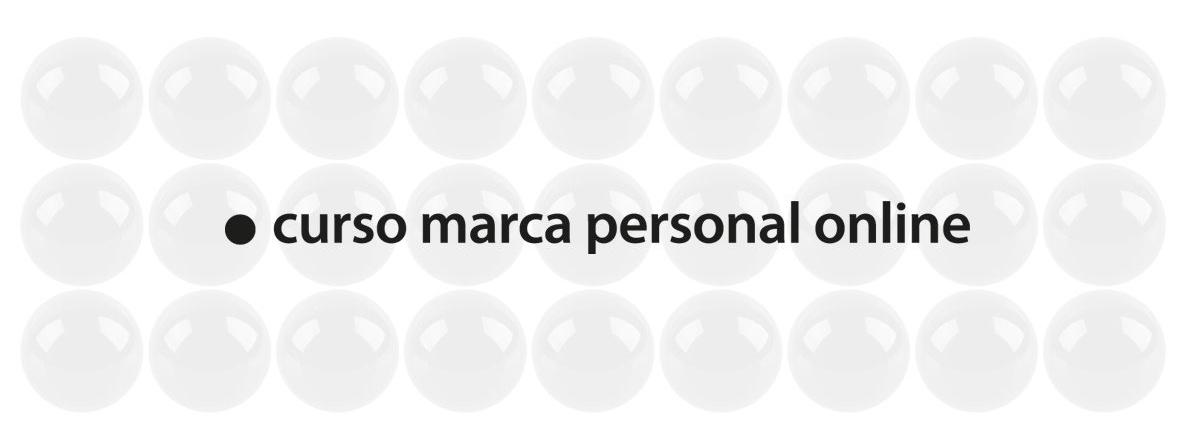 Curso Marca Personal Online