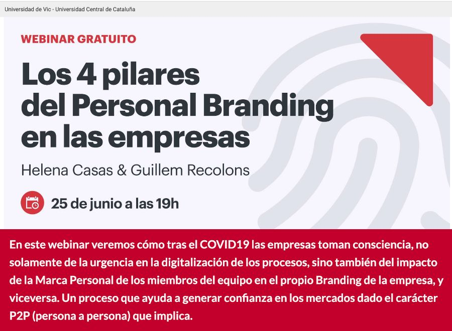 The 4 pillars of personal branding in companies