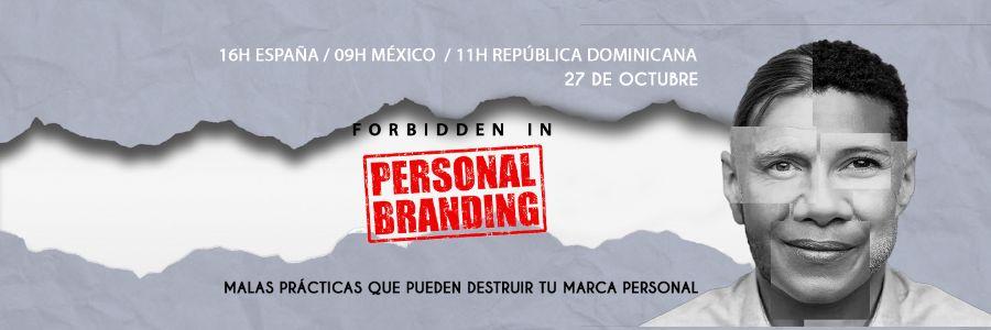 Prohibit en personal branding