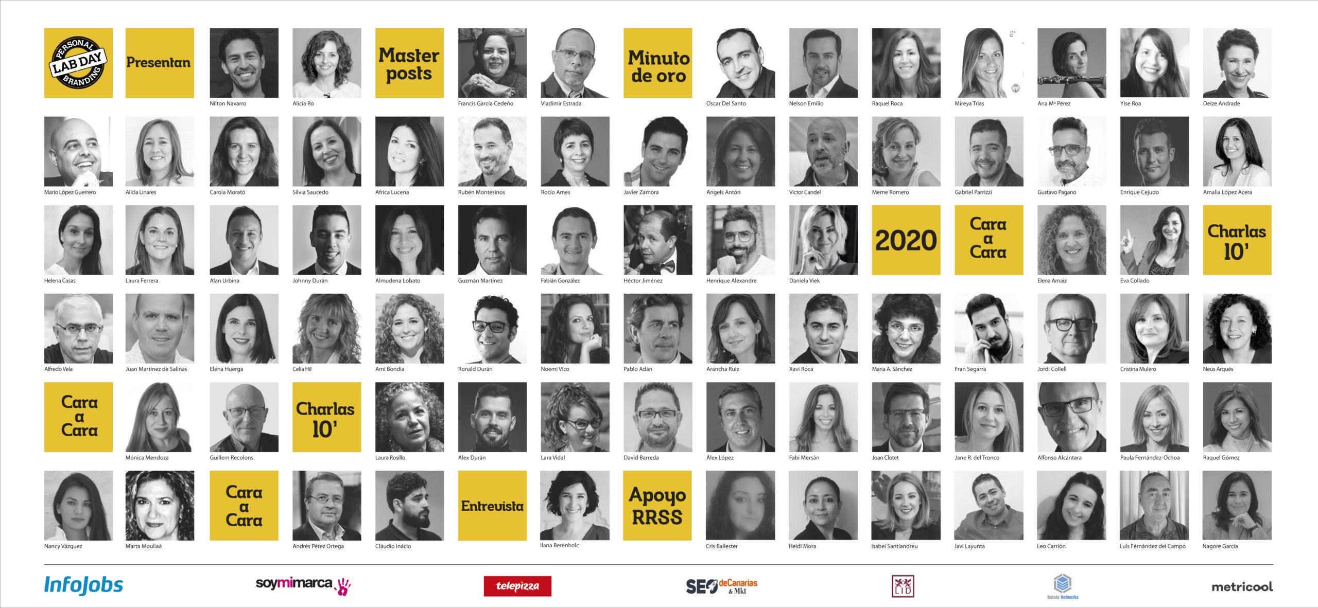 Protagonists #DíaDeLaMarcaPersonal 2020