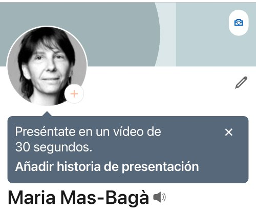 Añadir historia de presentación en LinkedIn